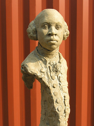 Christy Symington's portrait sculpture of 'Olaudah Equiano – African, slave, author, abolitionist'